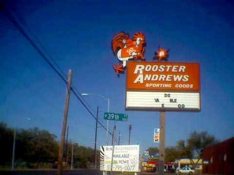 rooster snuffed